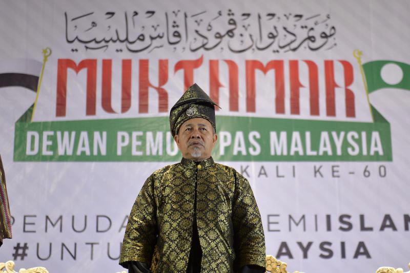PAS deputy president Datuk Tuan Ibrahim Tuan Man attends Dewan Pemuda proceedings during Muktamar 2019 in Gambang, Pahang June 19, 2019. — Picture by Mukhriz Hazim