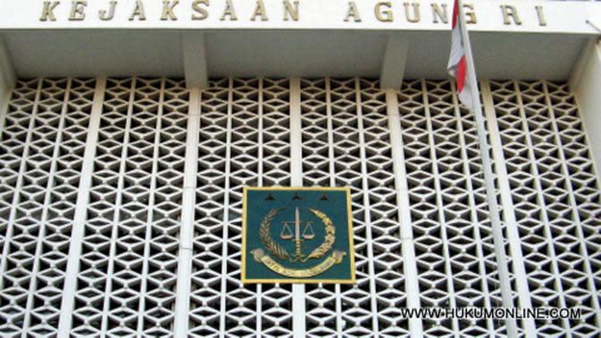Gedung Kejaksaan Agung Jakarta.