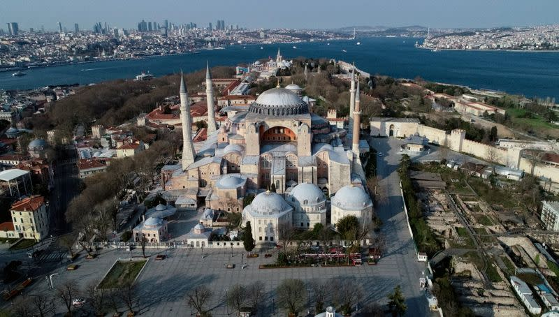 Orthodox Patriarch says turning Istanbul's Hagia Sophia into mosque would be divisive