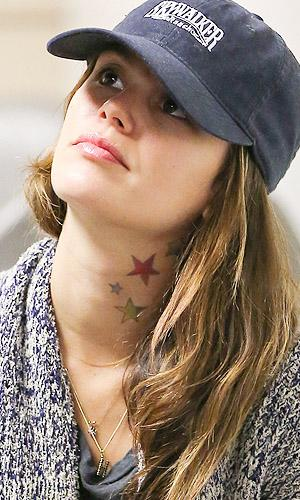 Are Rachel Bilson's New Neck Tattoos For Real?