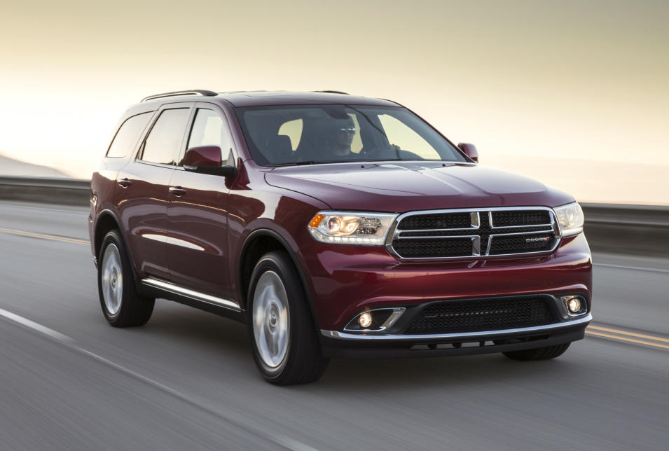 This undated image made available by Dodge shows the 2014 Dodge Durango Limited. (AP Photo/Dodge, AJ Mueller)