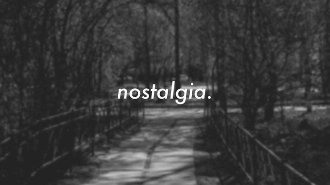 Ilustrasi Nostalgia (via Pinterest)