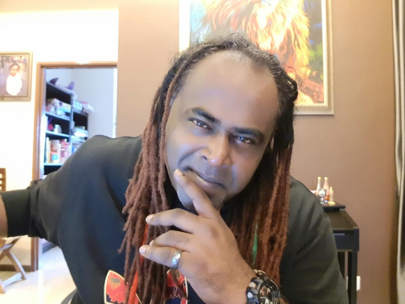 Malaysia reggae artist Sasi the Don expressed his dissatisfaction towards local radio stations for the lack of support they have for local artists. — Picture courtesy of Sasi The Don