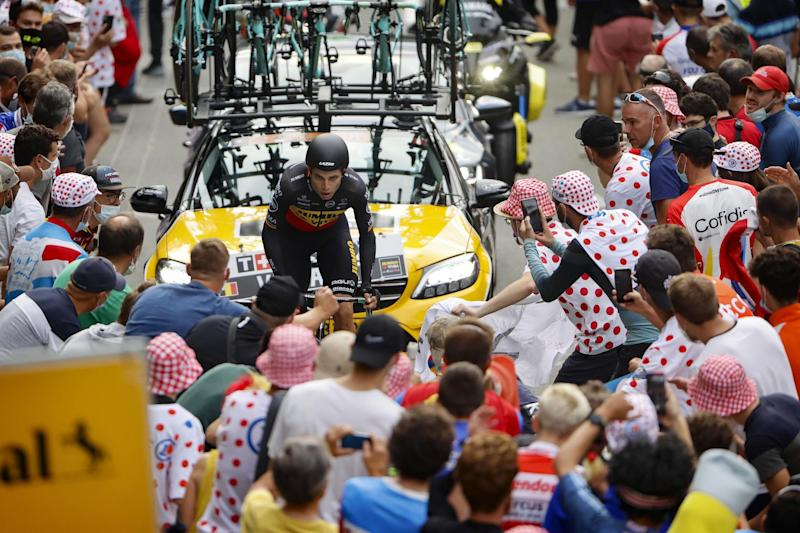Tour de France 2020 107th Edition 20th stage Lure La Planche des Belles Filles 362 km 19092020 Wout Van Aert BEL Team Jumbo Visma photo JDMCVBettiniPhoto2020