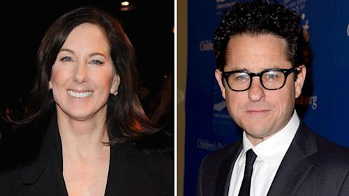 Lucasfilm co-chair Kathleen Kennedy convinced J.J. Abrams to do 'Star Wars'