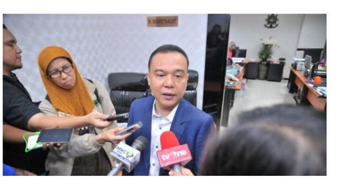 Sufmi Dasco Ahmad akan menggantikan Fadli Zon menjadi Wakil Ketua DPR RI dari Partai Gerindra. (Merdeka.com)