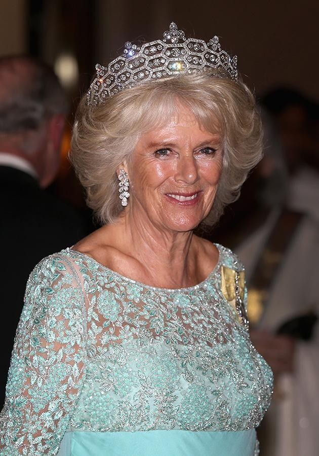 She might have grown up in a country estate worth $2 million but Camilla, the Duchess of Cornwall is worth a lot more than that now. Photo: Getty Images