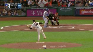 一人扛起7局投球重任 Logan Webb繳1責失7K優質先發【MLB球星精華】20211015