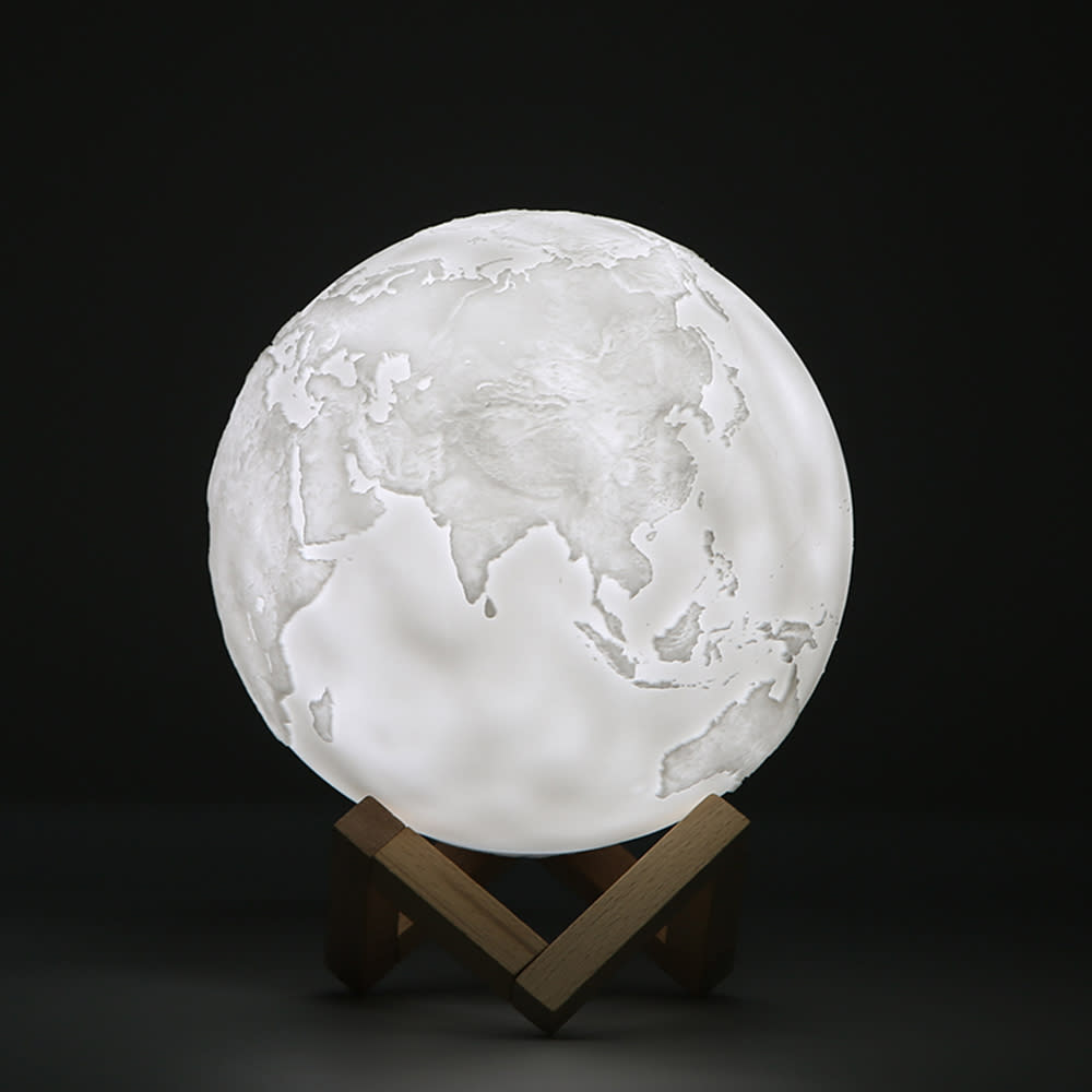 3D地球燈 LED小夜燈