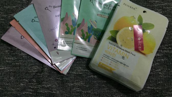 Kosmetik di Taiwan terbilang murah (Liputan6.com/Teddy Tri Setio Berty)