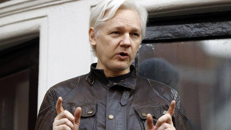 Assange could be kicked out of London's Ecuador embassy within hours