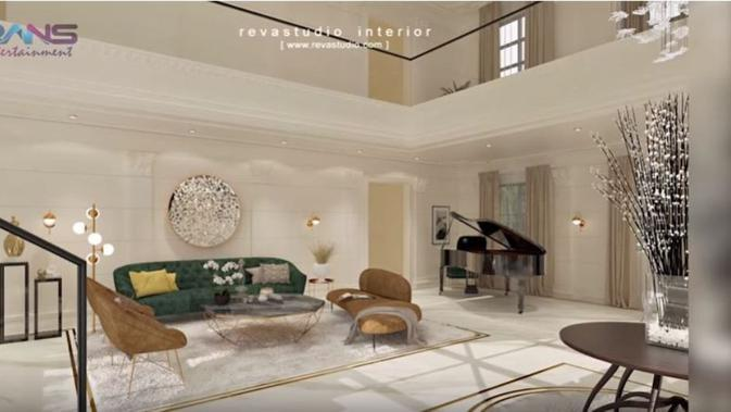 Desain rumah baru Raffi Ahmad dan Nagita Slavina. (foto: Youtube 'Rans Entertainment')