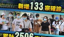 新增133宗確診 包括126宗本地個案 逾百病人等送院