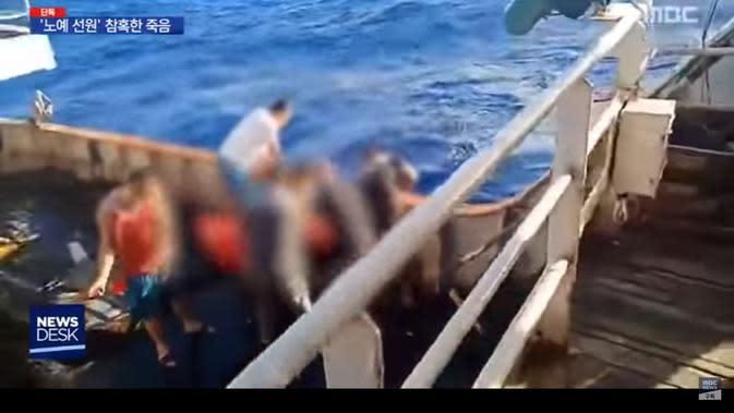 Polri: 3 ABK WNI yang Meninggal di Kapal Berbendera China Dilarung di Laut
