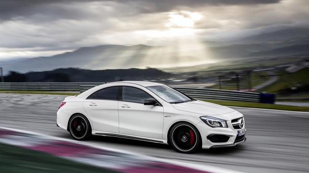 2014 Mercedes-Benz CLA45 AMG carves its own path