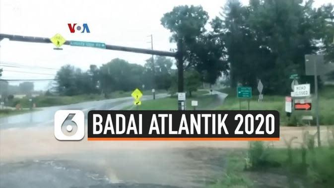 VIDEO: Waspada! Musim Badai Atlantik 2020 Diperkirakan akan 'Hiperaktif'
