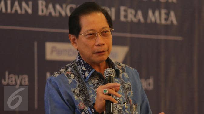 Presiden Direktur PT BCA Tbk, Jahja Setiaatmadja (Liputan6.com/Angga Yuniar)
