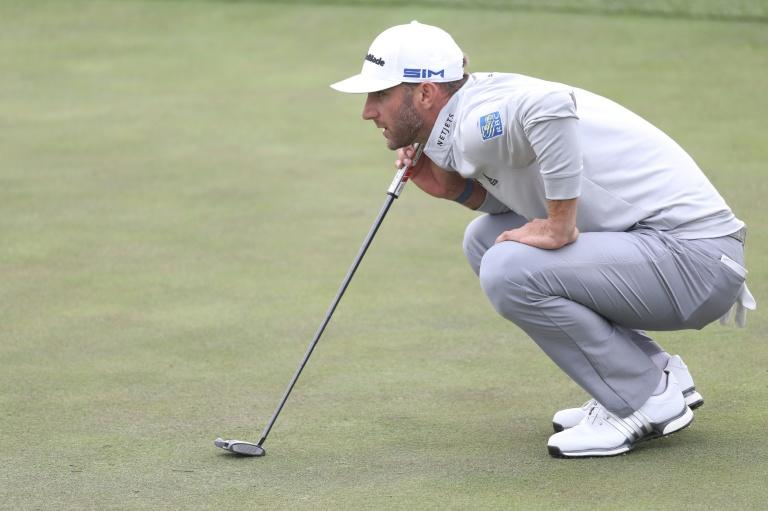 Johnson grabs one-shot lead at PGA Championship