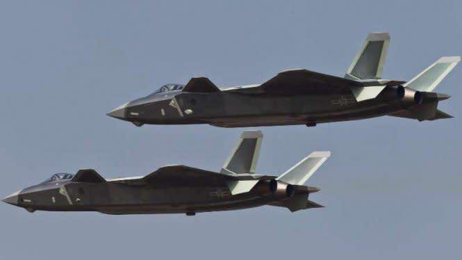Perbarui Kemampuan Jet Tempur Siluman, China Terus Ancam Amerika
