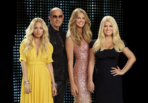 Jessica Simpson Fights Back on 'Fashion Star' [Video]