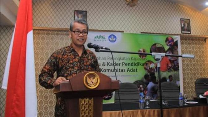 Antropolog Komunitas Konservasi Indonesia Warsi, Robert Aritonang. (foto: dok KKI Warsi)