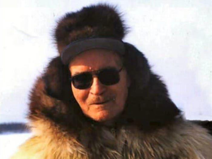<p>Sidney Huntington was born in 1915 in Hughes, Alaska. His mother was an Alaskan native of the caribou clan, and his father was a gold miner who came to live in Alaska in the early 1900s. His life was immortalized in the autobiography <em>Shadows in the Koyukuk</em>, which he co-authored with Jim Rearden. Although he had limited formal education (he stopped schooling after 3rd grade), Huntington learned through reading, and dedicated most of his life to championing and promoting education in rural Alaska. He died in 2015, at 100 years old.</p>