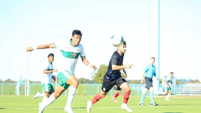 Peluang yang didapat pemain Timnas Indonesia U-19 kala berhadapan dengan Kroasia U-19 dalam laga persahabatan. (Dok. PSSI)