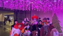新北歡樂耶誕城開幕 迪士尼角色現身會場(2) (圖)