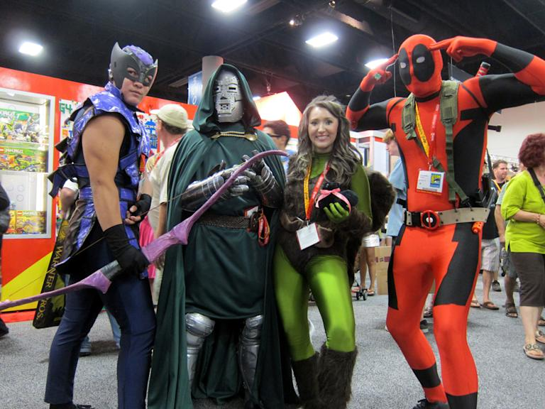 Unlikely allies from the Marvel universe come together - San Diego Comic-Con 2012