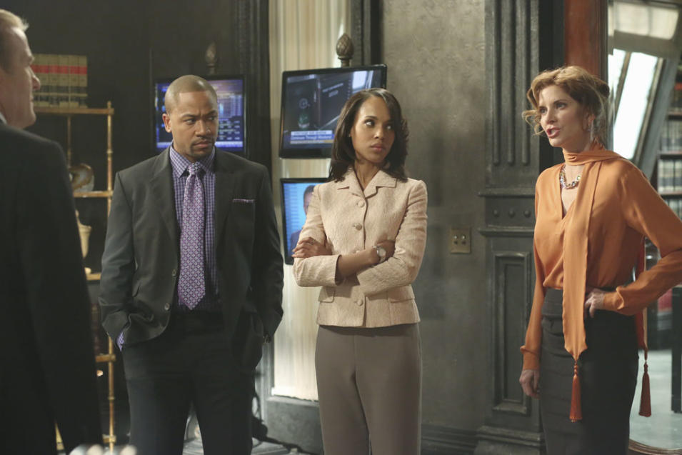 """Scandal"" -- ""Snake in the Garden"" GREGG HENRY, COLUMBUS SHORT, KERRY WASHINGTON, MELINDA MCGRAW"