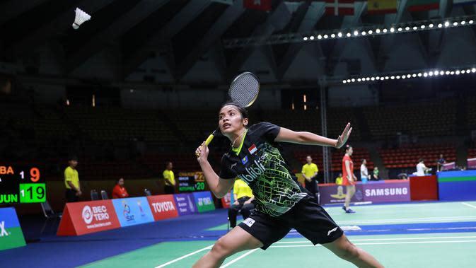 Gregoria Mariska Tunjung di Thailand Masters 2020. (PBSI)