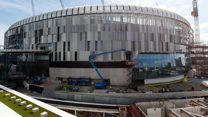 Stadion Baru Tottenham Hotspur (Twitter/Tottenham Hotspur)