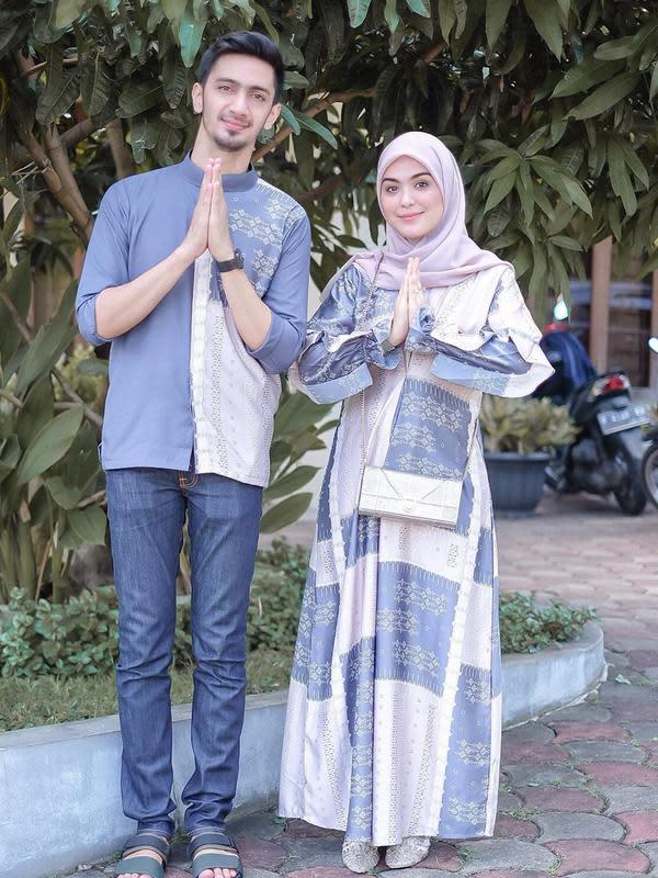 Momen Manis Vebby Palwinta dan Razi Bawazier Setelah Menikah. (Sumber: Instagram.com/vebbypalwinta)