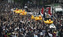 泰國學運出現「志願醫療小組」 協助抗議現場急救