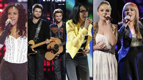 'The Voice' Top 5 -- NBC