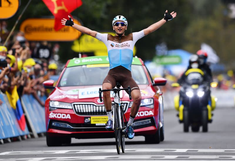 Some contenders exposed, others implode on Tour's first mountain test