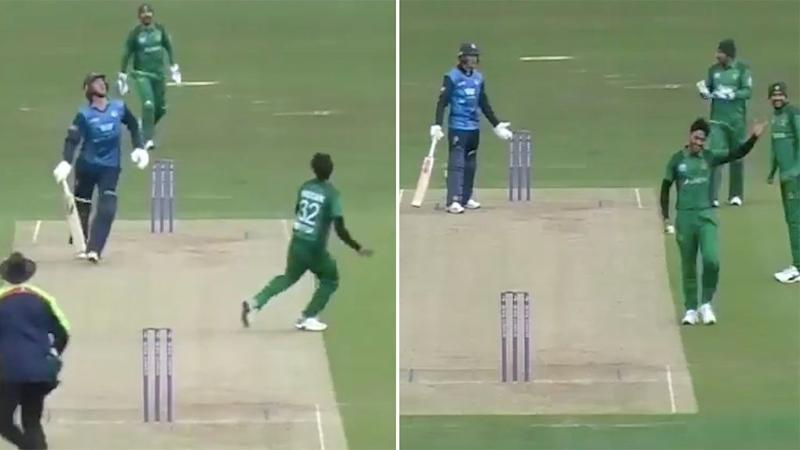 Pakistan star Hasan Ali claims controversial catch