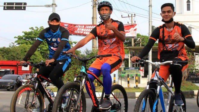 Persiraja Banda Aceh Manfaatkan Tren Bersepeda