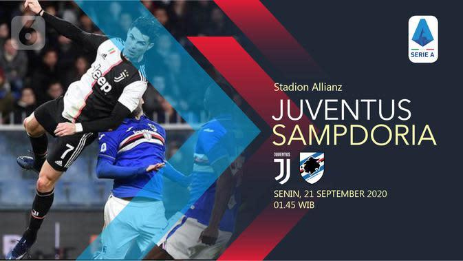 Juventus vs Sampdoria (Liputan6.com/Abdillah)