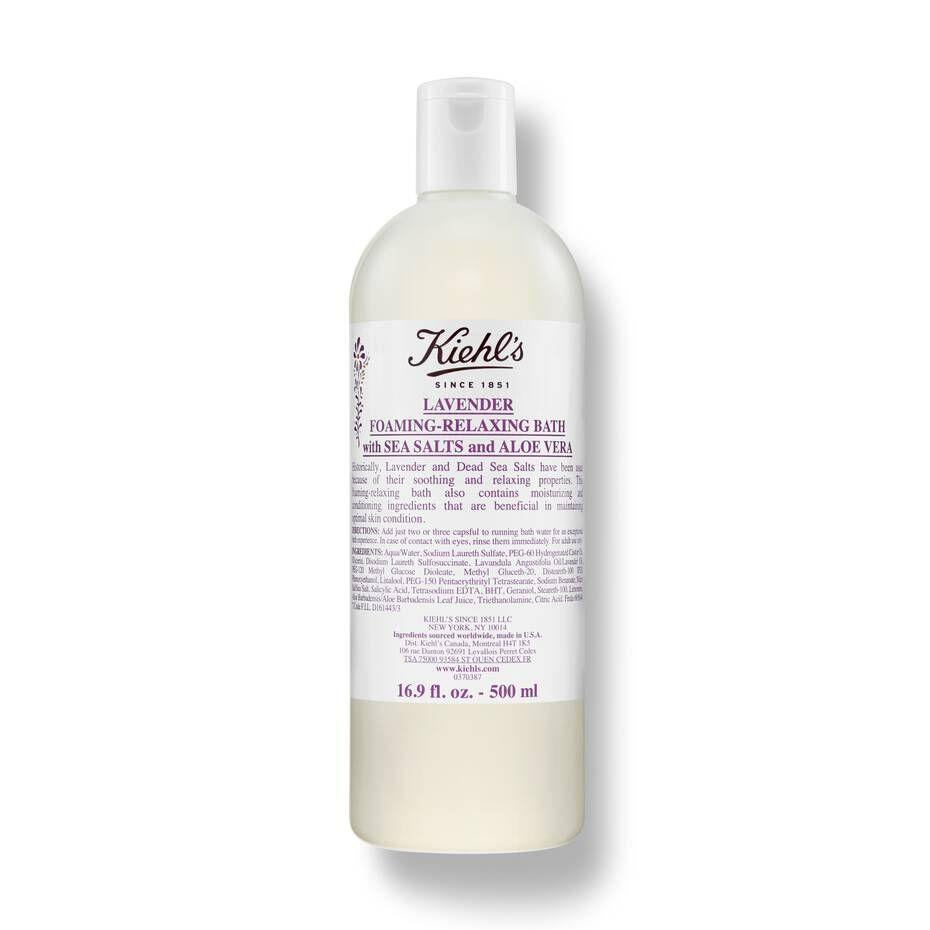 "<p><strong>'kiehl''s'</strong></p><p>kiehls.com</p><p><strong>$30.00</strong></p><p><a href=""https://go.redirectingat.com?id=74968X1596630&url=https%3A%2F%2Fwww.kiehls.com%2Fbody%2Fbody-wash-and-scrubs%2Flavender-foaming-relaxing-bath%2F300.html&sref=https%3A%2F%2Fwww.harpersbazaar.com%2Fbeauty%2Fskin-care%2Fadvice%2Fg3251%2Fbubble-bath-products%2F"" target=""_blank"">Shop Now</a></p><p>With skin-loving ingredients like lavender essential oil, glycerin, dead sea salts, and aloe vera, this bubble bath will leave your mind and body feeling more at ease with each soak.</p>"
