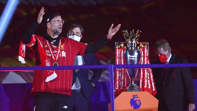 Mohamed Salah dkk juga memecahkan rekor juara Liga Inggris tercepat yaitu ketika masih menyisakan tujuh pertandingan lagi.