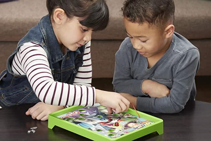kids playing Buzz Lightyear Operation