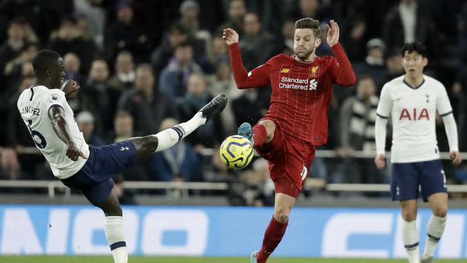 Gelandang Liverpool, Adam Lallana. (AP Photo/Matt Dunham)
