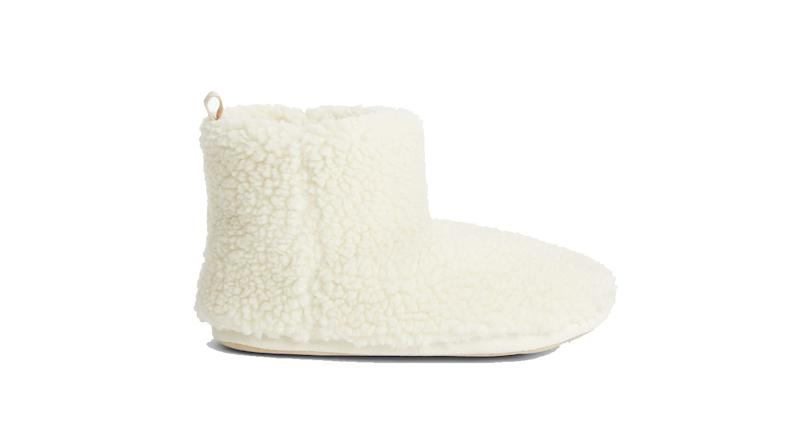 Borg Sustainable Faux Fur Boot Slippers