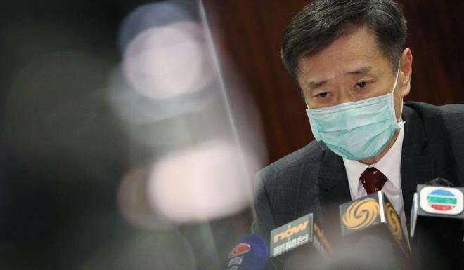 Lawmaker Yiu Si-wing. Photo: K. Y. Cheng