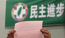 民進黨中常委選舉開票(1) (圖)