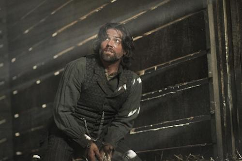 "In this image released by AMC, Anson Mount portrays Cullen Bohannon in the original series ""Hell On Wheels,"" premiering - Sunday at 10 p.m. EST on AMC. (AP Photo/AMC, Chris Large)"