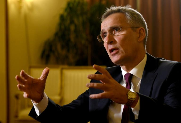 """NATO Secretary General Jens Stoltenberg told AFP that a """"long and hard"""" road to peace lay ahead"""