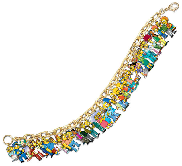 """The Simpsons"" Ultimate Charm Bracelet"
