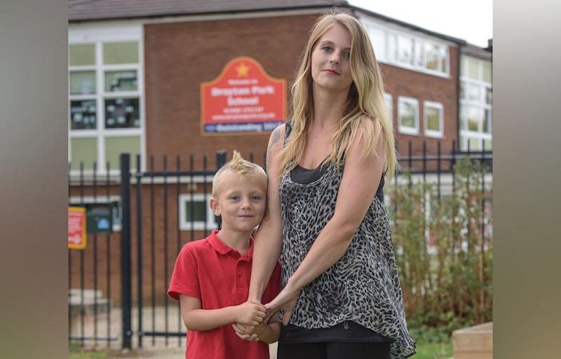 Mohawk haircut of UK Milton Keynes boy Charlie Chafer banned by school due to safety concerns.